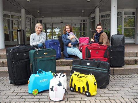 Fra v. Kjersti Ramsøy-Halle, Lina Engelsrud og Eva Gikling.