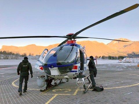Politiets helikoptertjeneste fra Oslo politidistrikt er kommet til Ørsta for å bidra i letingen etter den 25 år gamle Maja Justyna Herner som har vært savnet siden onsdag 22. november.