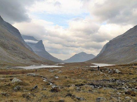 Den vakre Giklingdalen – eller er det Flatvaddalen?