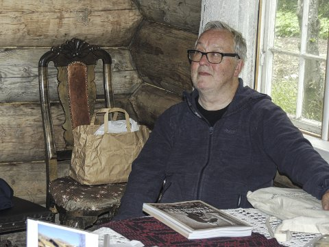 Populært: Tor Helge Gravem skriver et nytt bind i seterboka.