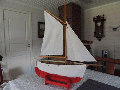 Basargevinsten harr hatt trygg havn på familiens hytte i Skardalen.