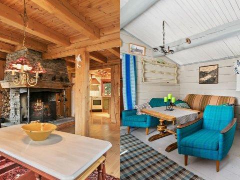 Interiør fra Trøndelags dyreste hytte.