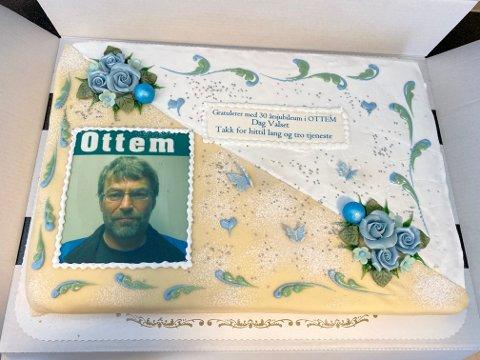 Kake: Kake var en selvfølgelig del av markeringen.