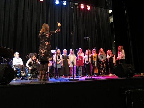 Deltar: Korene Vivo og Divisi, her på en konsert tidligere i år.