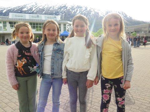 Vivo: Noen av jentene i Vivo-koret:  Genny Valsø, Sigrid Gravem, Mari Hoås Meisingset og Une Hagen-Aasen.