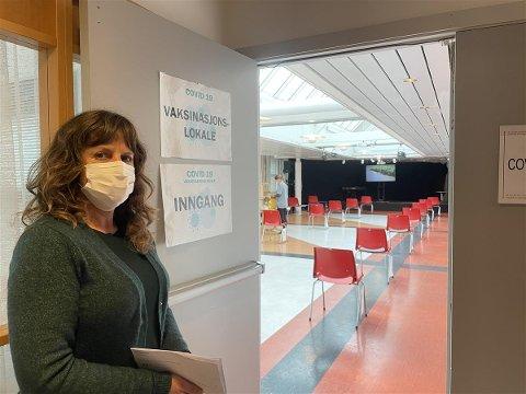 Vaksinasjonsansvarlig Gunn Inger Reiten i Sunndal kommune.
