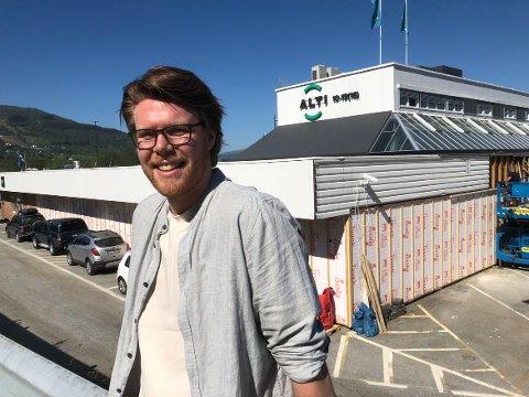 EVENTYR: Lars Ove Løseth blir administrerende direktør i den nye kjøpesenterkjeden Aurora.