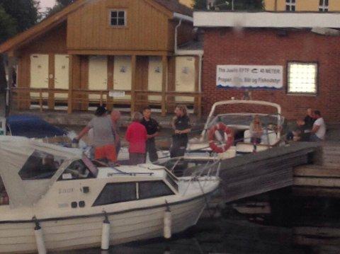 Må i Retten: En mann i 40-årene fra Gjerstad er tiltalt i Aust-Agder tingrett etter en hendelse på vannet i Risør i juli.