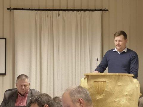 Vannmålerkrav: Jonas Gruer i Gjerstad kommunen fortalte at kommunen vil pålegge alle abonnenter å installere vannmåler.