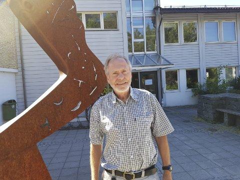 Innspurtsuka: Jon Frydenborg, enhetsleder for eiendom og tekniske-tjenester i Risør kommune «legger opp» etter denne uka. Foto: HPB
