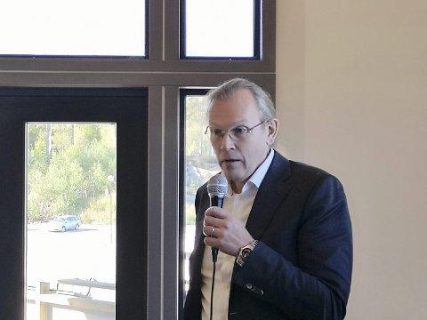 HAR KALT INN: Direktør for planlegging og drift i Nye Veier, Finn Aasmund Hobbesland, har kalt inn kommunene til et møte.
