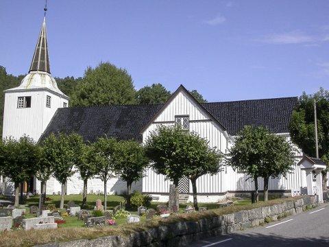 Utsmykking: Onsdag neste uke er det foredrag om Ole Nilsen Weierholt på menighetshuset, som blant annet smykket ut Søndeled kirke på 1700-tallet.Foto: arkiv