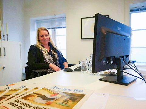 INVITERER: Redaktør Camilla Glad vil møte leserne.