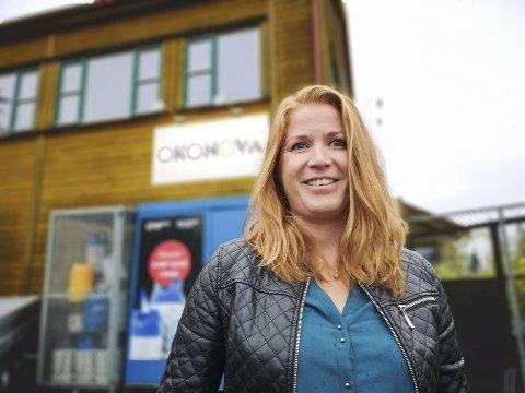 EN ROLLE I ENDRING: Regnskapsfører hos Økonova Camilla O. Aas Søndeled inviterer kunder og andre til faglig påfyll.Foto: HPB