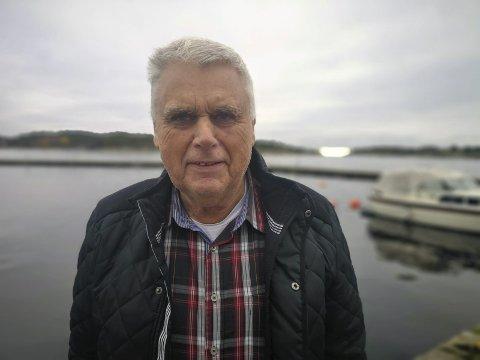 FEIRER: Einar Gjernes inviterer til storslått feiring av Gjernes bedehus til helgen, som i disse dager har stått i hundre år. Foto: HPB