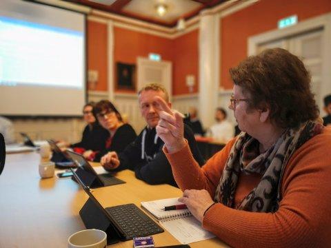 SKEPTISK: Lill Jorunn Larsen (KrF) var skeptisk til å slå sammen rektorstillingene på Kjempesteinsmyra.