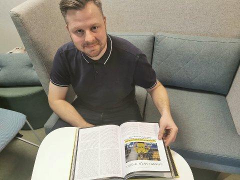 Andreas Ivan Nielsen har skrevet bok om start. Møtet med Mykland er det gøyeste han har gjort i sitt liv.