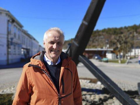 Torstein Johansen hos Raadhuset Eiendomsmekling kan feire med én ekstra million i omsetning i 2020 kontra 2019. Arkivfoto: Hans Petter Bjerva