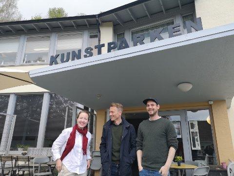Styret i Kunstparken byttes ut med yngre krefter. Inn i styret kommer blant annet Tine Karlsvik og Terje Vestervik (t.h.). I tillegg skal kultursjef Torolf Kroglund mer på banen, forteller han.