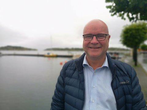 SLITEN MEN FORNØYD: Høyres ordførerkandidat Kai Strat har sikret ett av Høyres beste resultater igjennom tidene, hevder han.