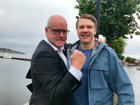 Høyre har gjort et brakvalg i Risør. Kai Strat ville ha med seg ungdommen, det fikk han. Sverre-Tobias Dukene er inne på lista.