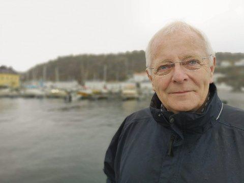 På'n igjen: Ove Ramskjær i Urheia velforening håper mange fortsatt har engasjement for Urheia og blir med på dugnad førstkommende mandag.Foto: ARKIV / hpb