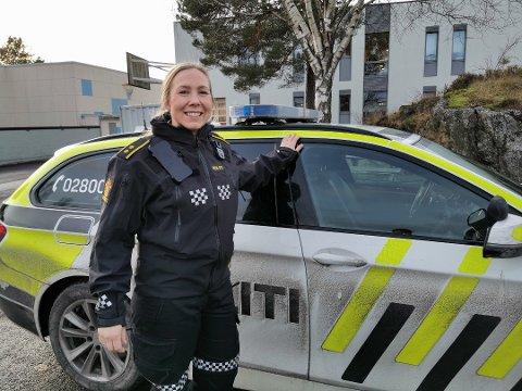Relativt rolig: Margrethe Solvang hos politiet i Risør melder at det har vært roligere i Gjerstad og Risør enn mange andre steder i fylket.