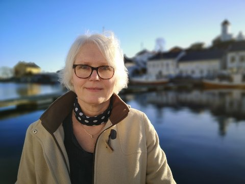 EN INVESTERING: Risør Bys leder, Unni Olimb Norman, håper flere vil se hvilken oppgave byselskapet forsøker å løse og dermed blir med for å støtte.