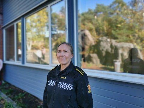 Politikontakt Margrethe Solvang forteller om hendelser i Risør og Gjerstad i helga.