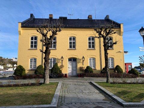 Tollboden i Risør ble lagt ut for salg onsdag.