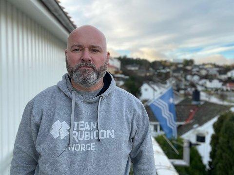 Frank Sandbye-Ruud er tilbake fra Beirut, hvor han ble smittet av Covid19. Nå ser han frem til julefeiring i Risør.