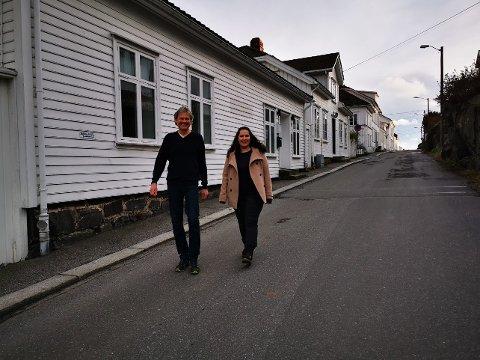 Bisan Mansour og Knut Henning Thygesen fra Rødt ønsker et samarbeid om å få på plass en komite som skal planlegge markeringen av at Risør fyller 300 år i 2023.
