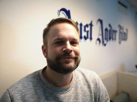 SENDES HJEM: Ansvarlig redaktør Trond Nøstvold Tou følger konsernets råd og sender journalistene på hjemmekontor.