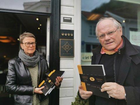 """""""Det lille hotel, og litt til"""" ble til i samarbeid med grafisk designer Nina Akersveen og lanseres på lørdag."""