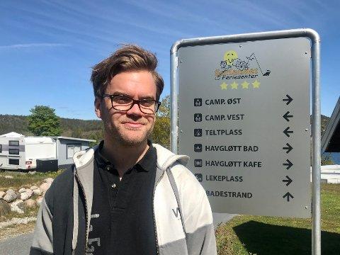 – Vi er avhengige av å få fylt opp alle ukene i sommer for at dette skal bli et godt år for oss, sier Ole Marius Sandnes ved Sørlandet Feriesenter.