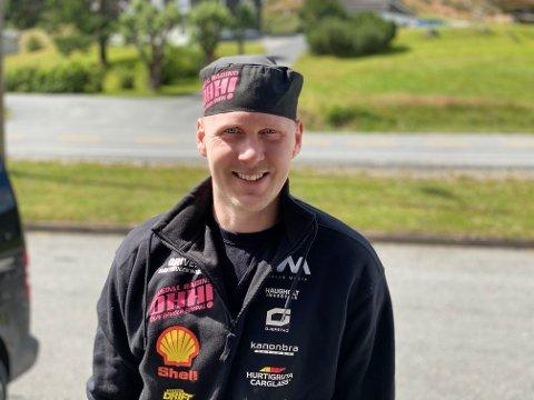 HÅNDPLUKKET: Olav Haugen Hasdal har fått invitasjon til å konkurrere med landets beste driftingførere i Gatebil Drift Series. I august går den første runden på Rudskogen.