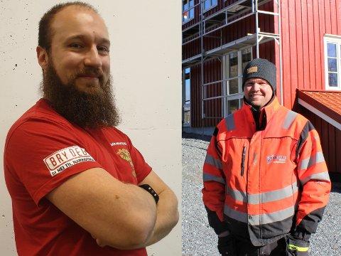 Roman Telezhnyak som nylig startet Gjerstad Kraftsport og Gunstein Gjetmundsen i Gjerstad Hus og Hyttebygg har begge fått innvilget søknaden om støtte fra regionalt næringsfond.