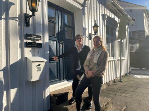 Marianne Hognestad og Hanne Kraft-Johanssen flyttet fra nyttår inn i samme kontorfellesskap.