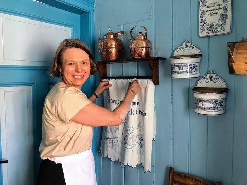 Ragnhild Sigurdsøn fikk ideen om å åpne opp for afternoon tea i det gamle huset i Krags gate etter å ha besøkt Dalen Hotell.