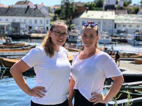 Elisabeth og Katharina Grande er damene bak Grande Renhold AS.