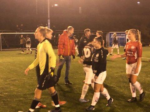 2-2: Flekkefjord spilte 2-2 mot Vigør i Kristiansand torsdag kveld. Til høyre Kamilla Bruhjell.