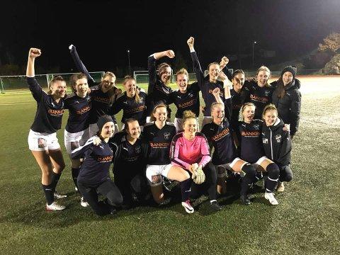 KIL-kvinnene hadde all mulig grunn til å juble etter seier mot Lyngdal og en sterk 3. plass i årets 3. divisjon.