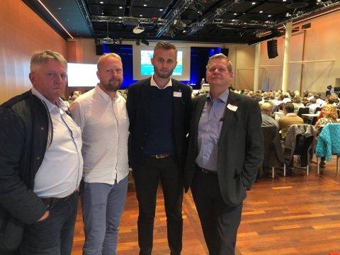 Både rådmann og politikere fra Kvinesdal var på plass på dagens møte.