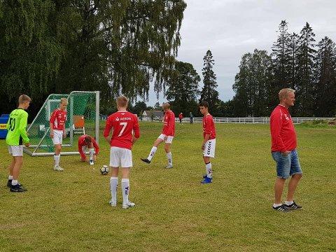 TAPTE: Også FFK Gutter 15 røk ut i sluttspillet i dag.