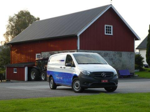 LANSERER NYTT STØTTETILBUD: Enova gir nå bedriftsmarkedet investeringsstøtte ved kjøp av elektriske varebiler.