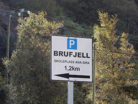POPULÆRT: Et av de populære reisemålene som har skapt overbelastning er Brufjell i Åna-Sira.