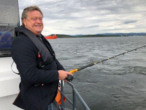 fiskeri- og sjømatminister Harald T. Nesvik.