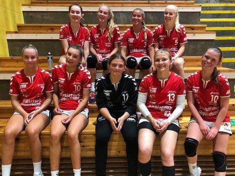 Flekkefjord-laget som lørdag spilte bortekamp i Kristiansand.