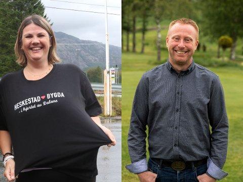 INGEN MATCH: Det ble ingen match mellom Mariann Tjørn fra Lund og Jakten-bonden Ronny Stokland.