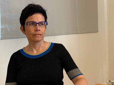 GOD KONTAKT: Fagdirektør Susanne Hernes på Sørlandet sykehus opplyser at det er daglig kontakt mellom sykehus og kommunene for å følge opp situasjonen.